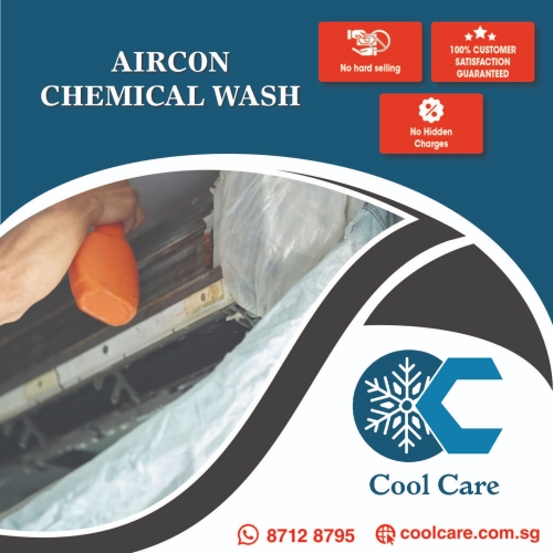 Aircon Chemical Wash – COOLCARE